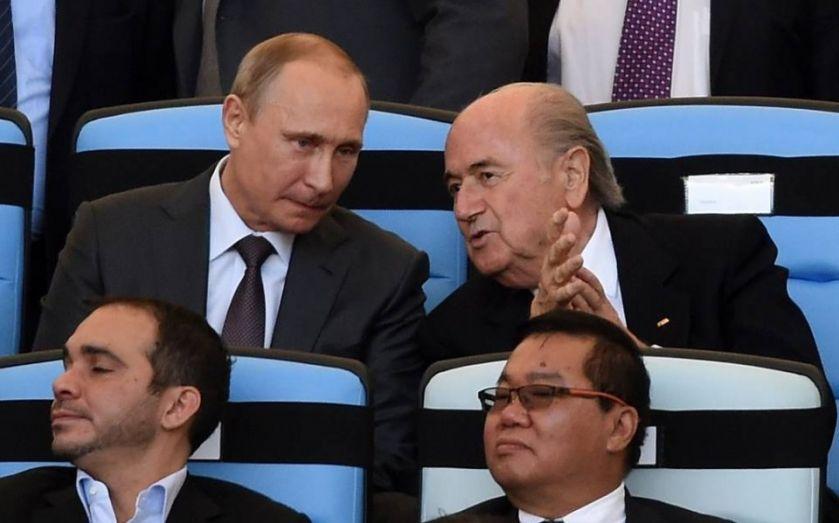 Fifa boss Sepp Blatter deserves a Nobel Prize, says Russian President Vladimir Putin