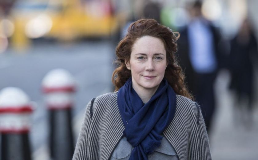 Rebekah Brooks confirmed as News UK chief executive as former Telegraph editor Tony Gallagher is appointed as Sun editor