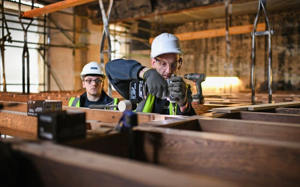 Kier shares fall as outsourcer swings to £35.5m loss