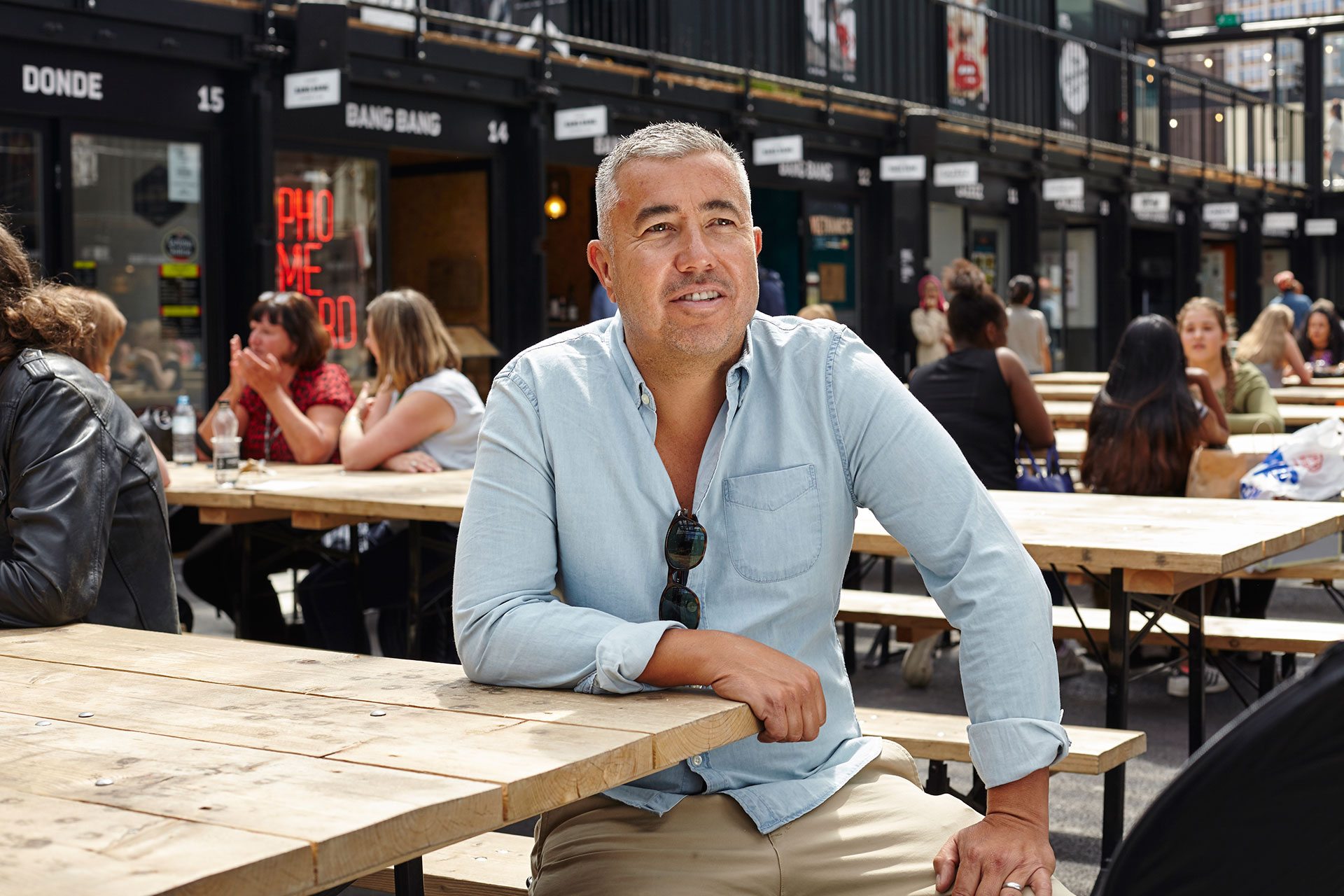 The founder of Boxpark on making a modern market out of a shed, selling Boxfresh, and hiring a Michelin star chef
