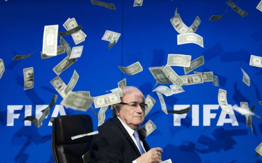 Fifa corruption crisis: Sepp Blatter and co added to organised crime exhibition at Las Vegas Mob Museum alongside Al Capone and John Gotti