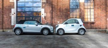 BMW and Mercedes-Benz create Share Now car-sharing alliance