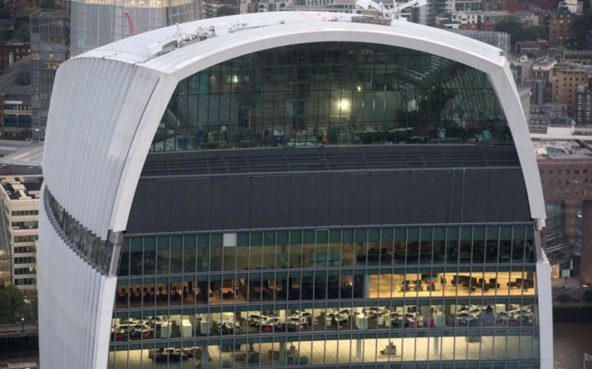 Walkie Talkie to smash City office records as top floor goes under offer