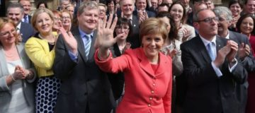 SNP calls for full fiscal autonomy for Scotland but Tory minister slams it as a