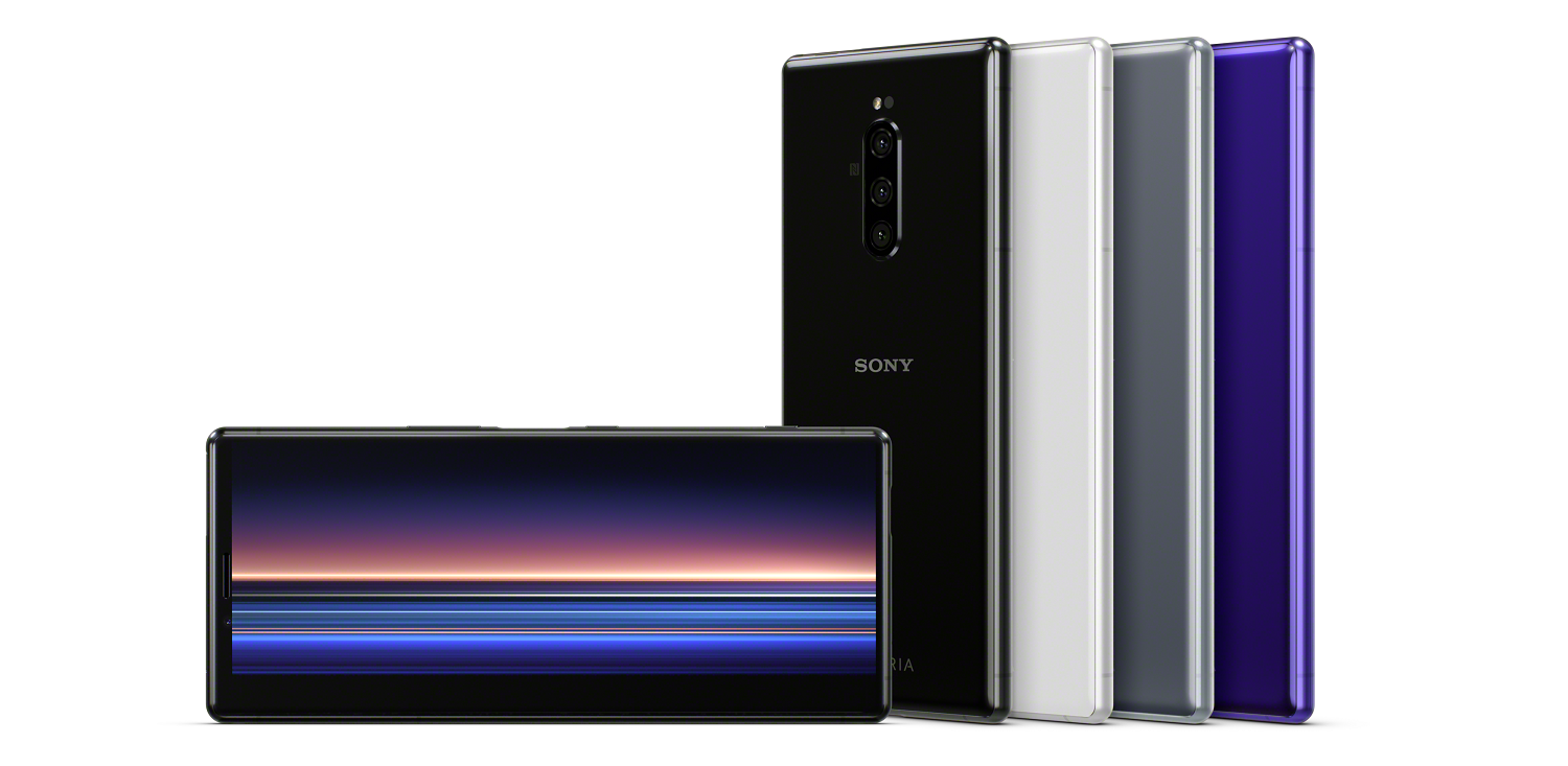Sony taps into cinematic screens for the Xperia 1 smartphone