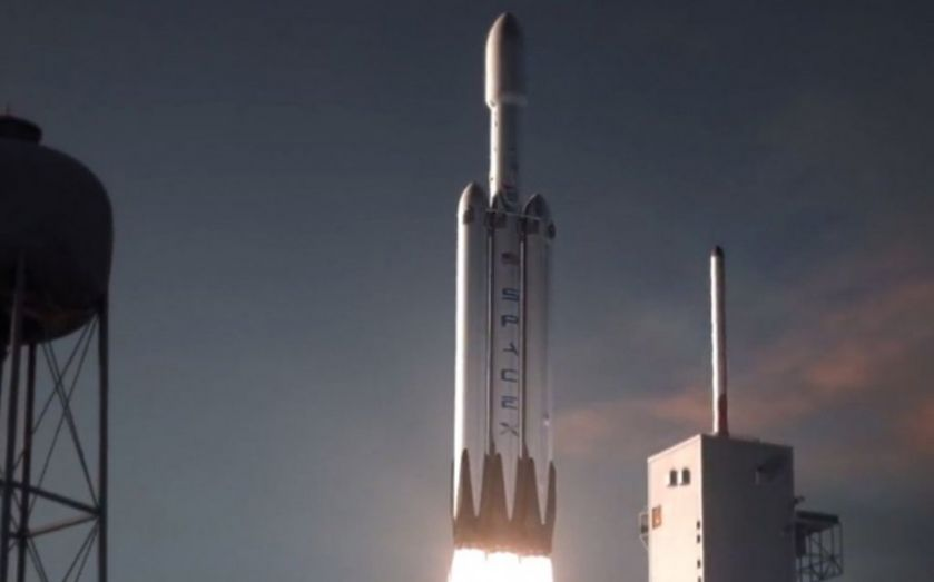 SpaceX is getting ready to launch its Falcon Heavy - the world's most powerful operational rocket