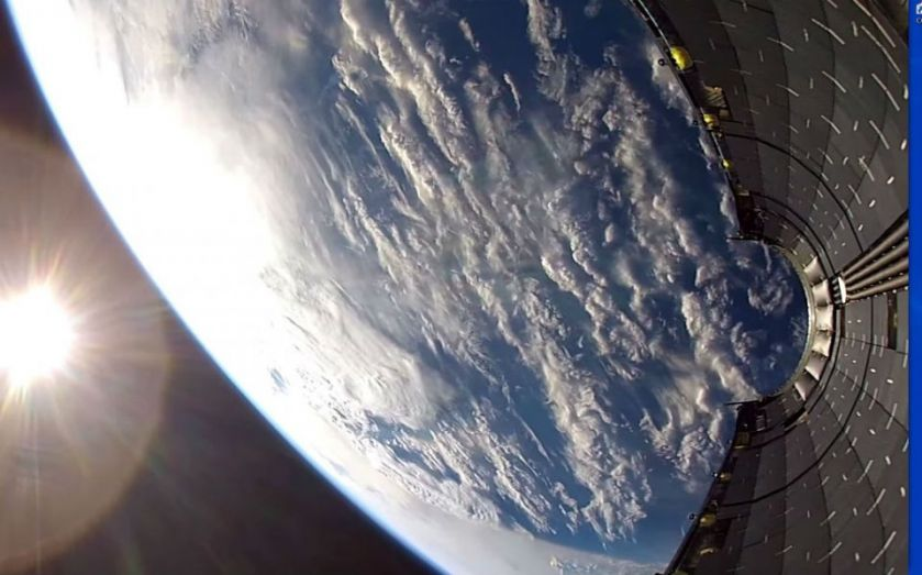 SpaceX GoPro video: Here's what Elon Musk's Falcon 9 rocket sees from space as it falls to earth