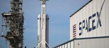 Watch billionaire Elon Musk's Space X land all three Falcon Heavy rocket boosters