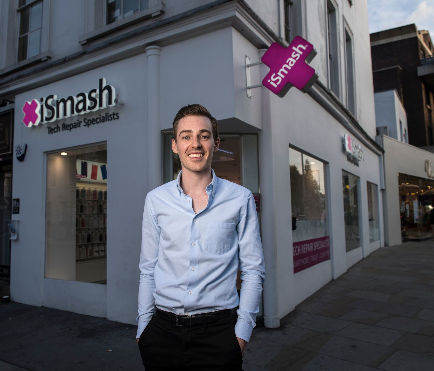 iSmash on rivalling Apple for tech repairs and launching more stores in a dying high street