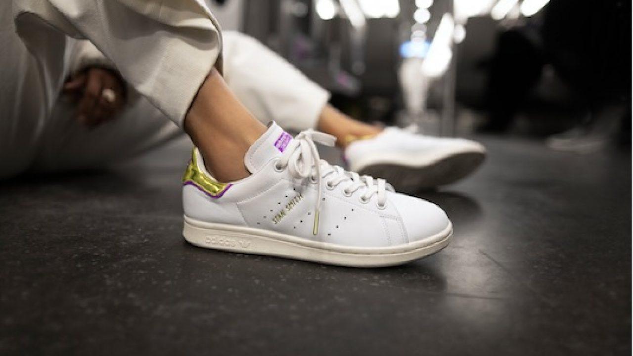 elizabeth line adidas trainers