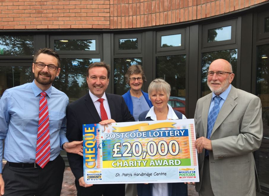 Charity lottery reform will help communities nationwide