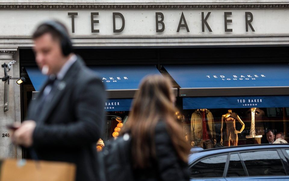 Ted Baker shares slide as retailer warns on profits in 'difficult trading conditions'