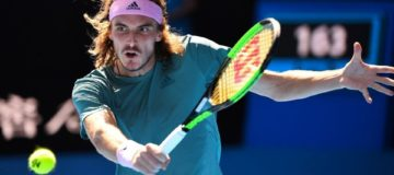 Is Stefanos Tsitsipas's progress at the Australian Open a sign of a changing of the guard in men's tennis?