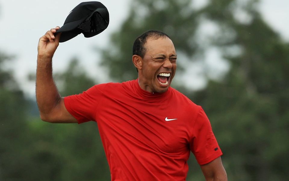 Tiger Woods back on trail of Jack Nicklaus record after ending 11-year Major drought at Masters