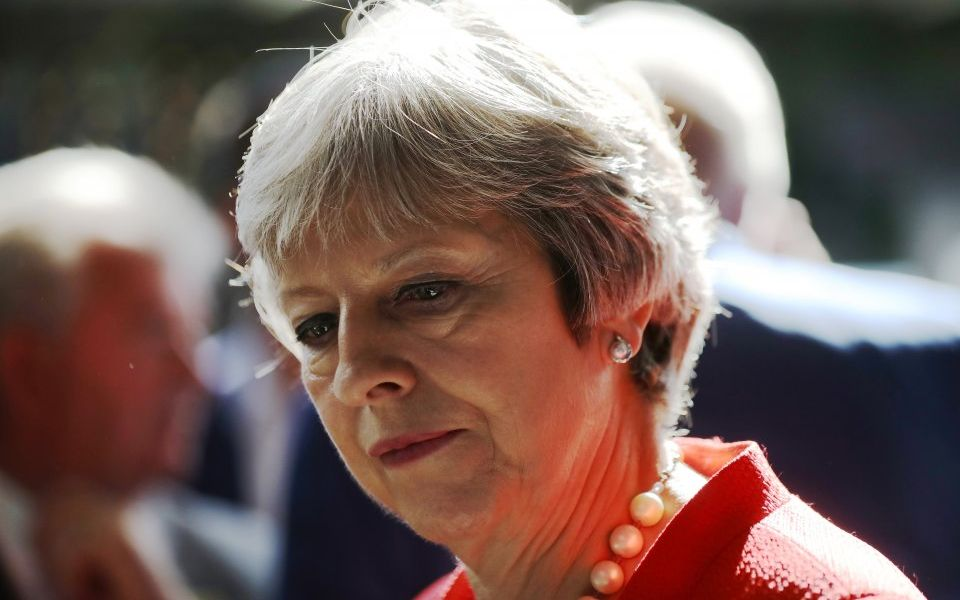 Theresa May vows no compromises on Brexit plan as Tory party conference looms