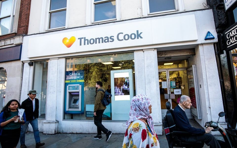 Thomas Cook shares continue to fall, dragging FTSE firms down with it