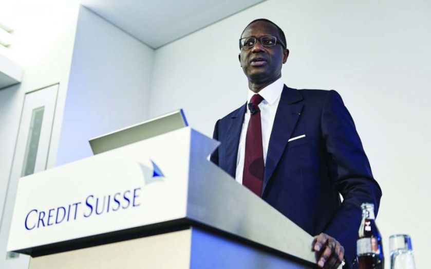 Tidjane Thiam points Credit Suisse to private banking as profits jump