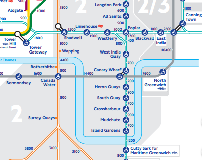 London Light Rail Map.Dlr Srikes Across London Cityam Cityam