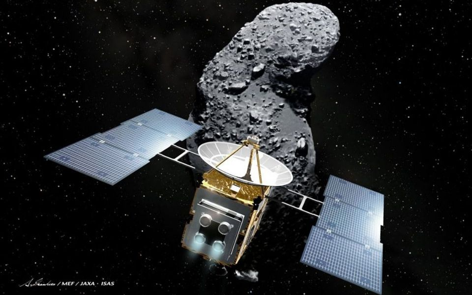 Japanese space probe Hayabusa 2 successfully lands on asteroid