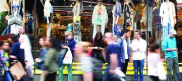 Droves of shoppers return to Central London high streets