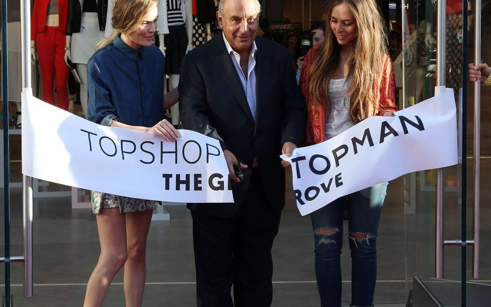 Topshop bottom up as it flounders in rough retail space