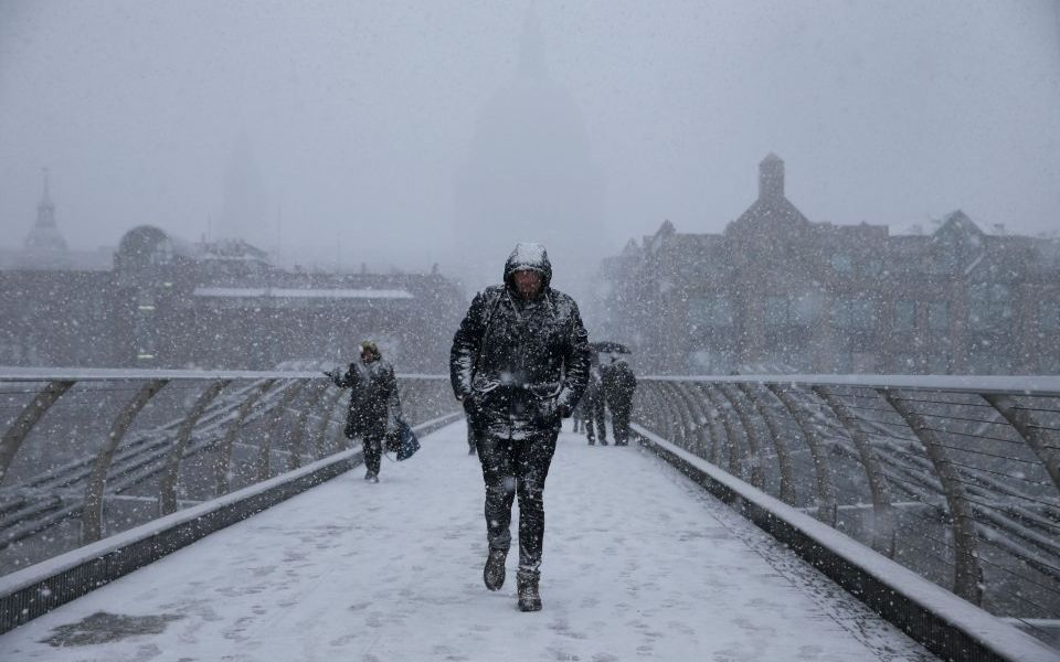 4c596a696 The UK is braced for heavy snow this weekend as London feels the ...