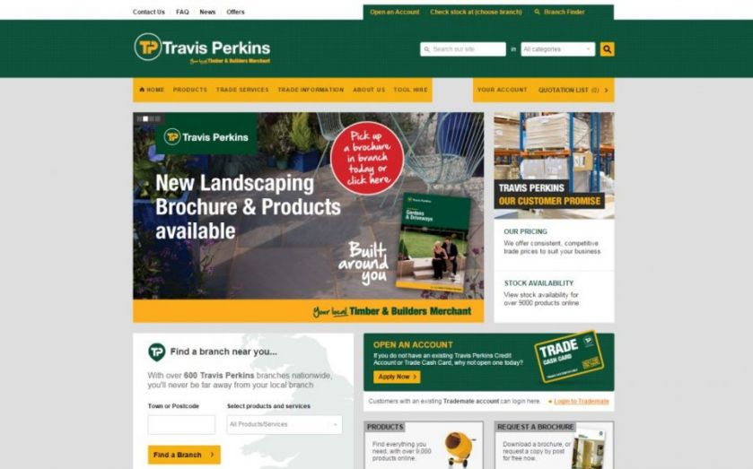 Travis Perkins plans 400 new stores as housing market grows