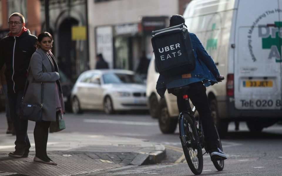 Uber Eats cuts app fees to compete with food delivery rivals Just Eat and Deliveroo