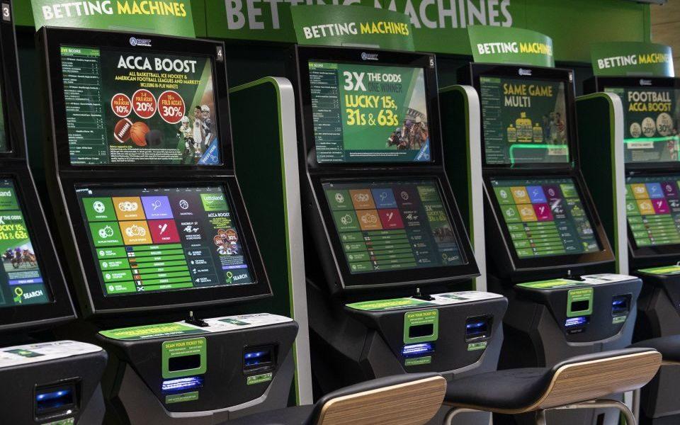Fixed odds betting terminals budget car sport betting explorer