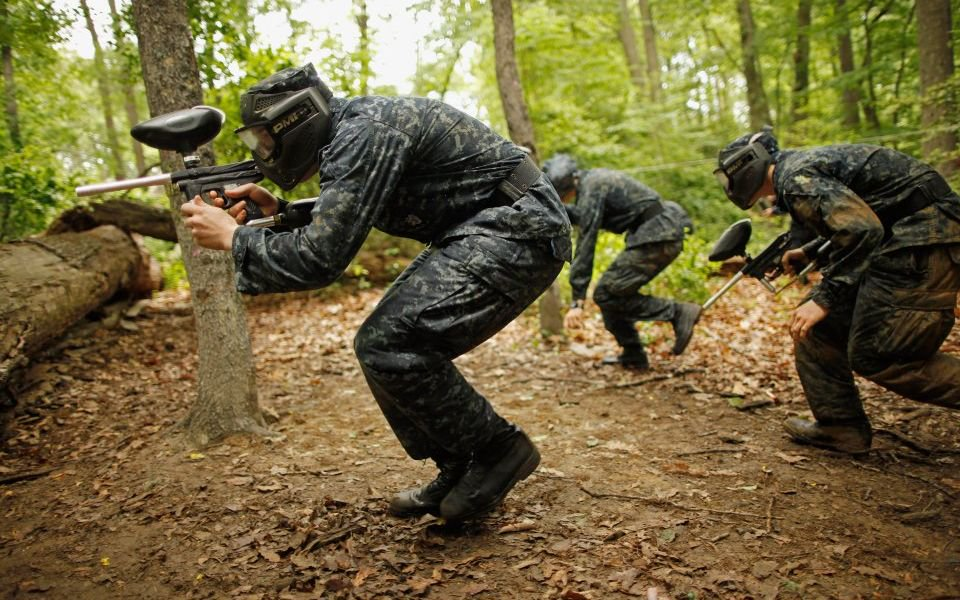 Paintball, Power Point and trust exercises: How to survive your next team away day