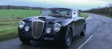 The Lancia Aurelia Outlaw is a controversial classic modified with hot rod-style roof chop. Tim Pitt drives it