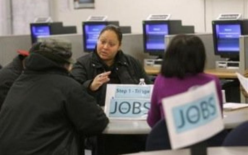 The fewest Americans applied for unemployment benefits as have done so in 13 months last week, new data from the US Labor Department shows.
