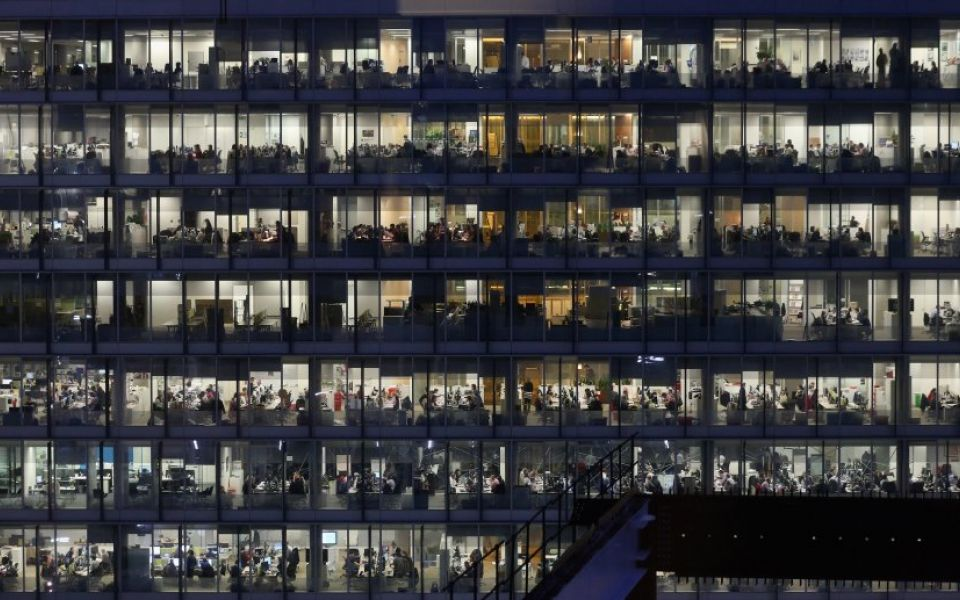 Sharp rise in property values for UK's top shared office space providers