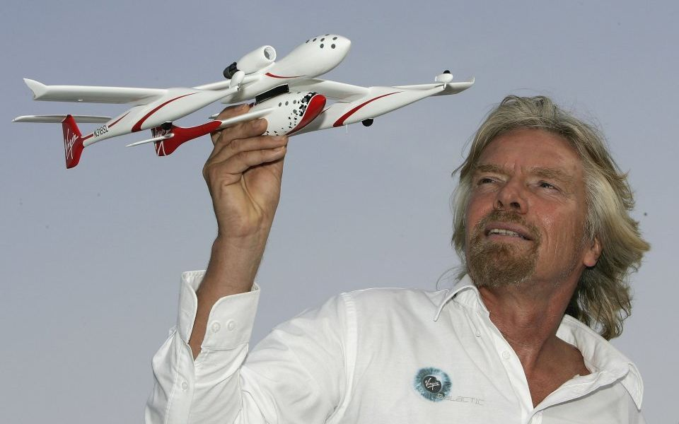 Sir Richard Branson looking for additional investment in Virgin space ventures
