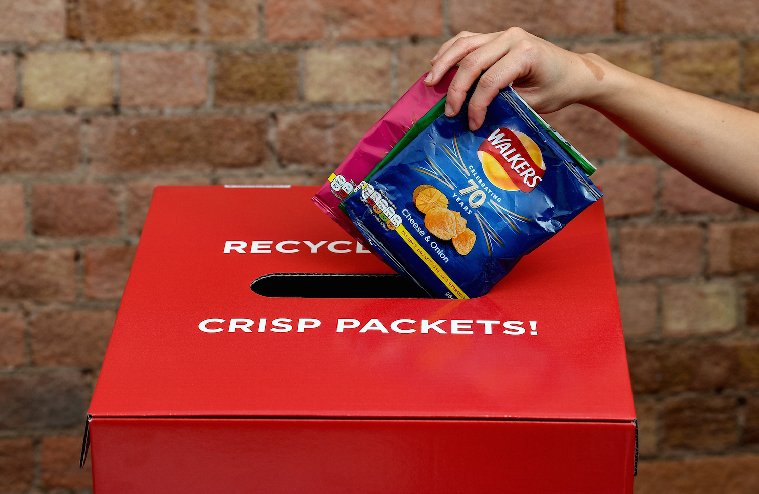 Half a million packets returned since launch of Walkers recycling scheme