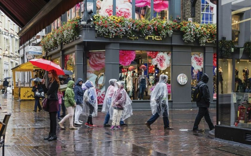 UK shoppers flee high street over August bank holiday weekend