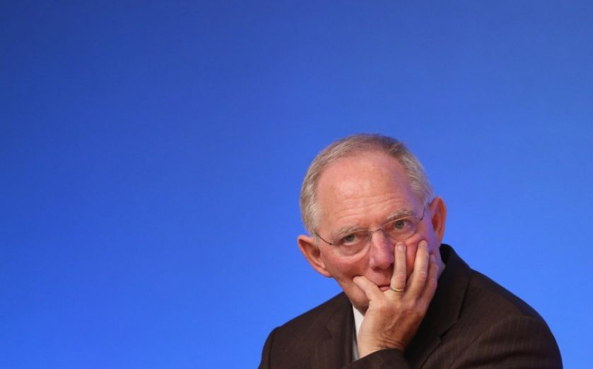 EU migrant crisis: Germany can pay for incoming migrants without taking on new debt, says finance minister Wolfgang Schaeuble
