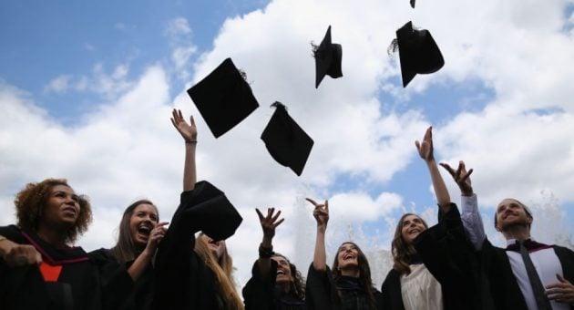 The future looks bright for university graduates