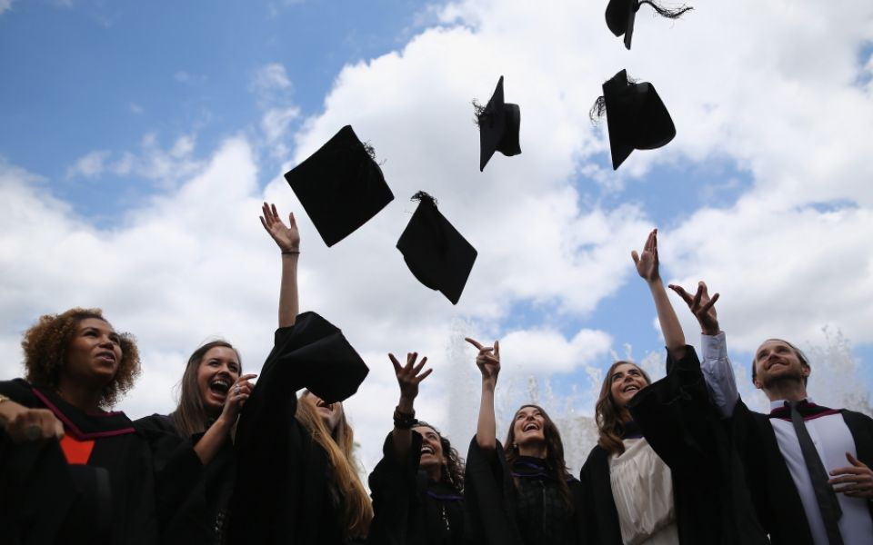 The future looks bright for university graduates