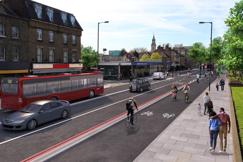 New London cycleway to link Tower Bridge and Greenwich