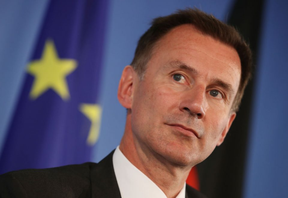 Foreign secretary Jeremy Hunt said he would not commit to an October deadline 'at all costs'