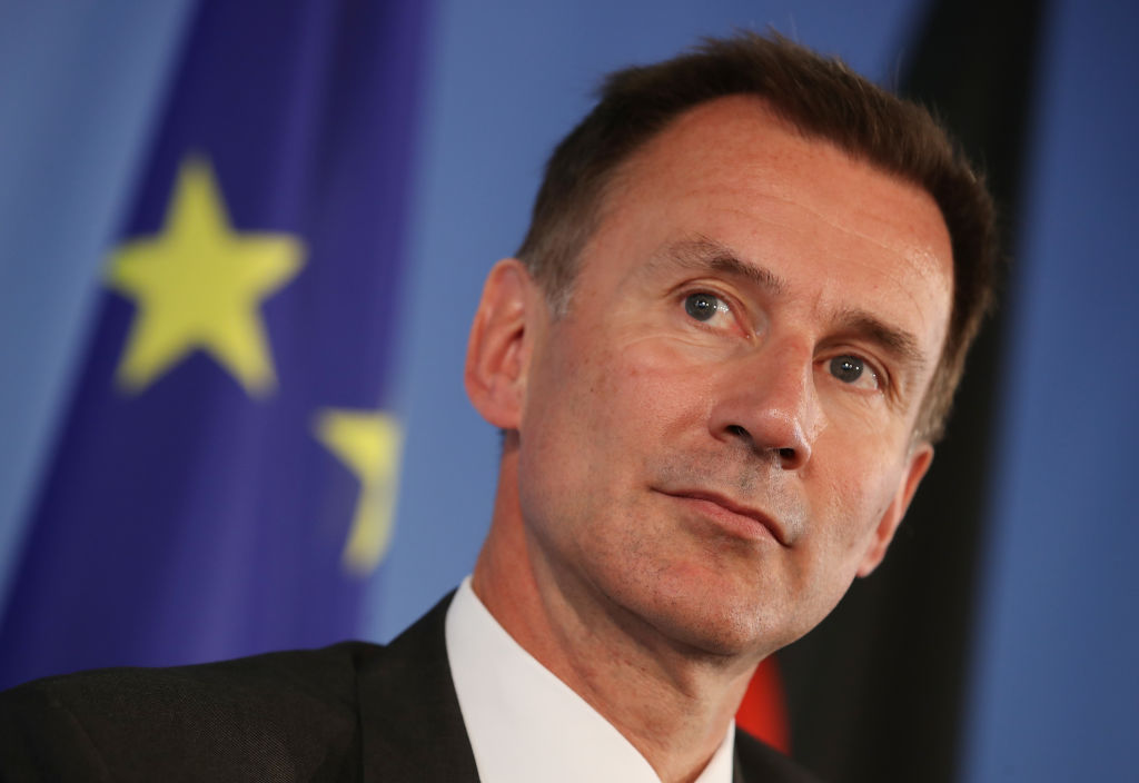 Jeremy Hunt says he would be prepared to delay Brexit past October