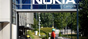 A picture taken on July 26, 2018 shows a view of the headquarters of Finnish telecoms giant Nokia in Espoo, Finland. - Nokia released second-quarter and half-year 2018 results below market expectations. (Photo by Mikko Stig / Lehtikuva / AFP) / Finland OUT (Photo credit should read MIKKO STIG/AFP/Getty Images)