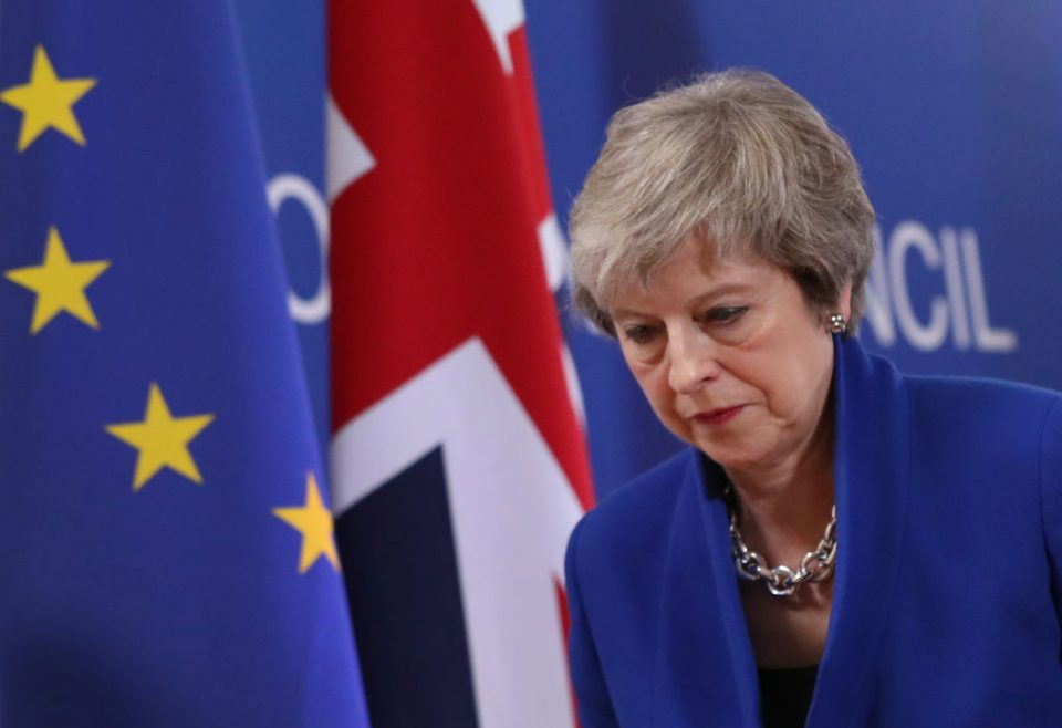 Theresa May has officially resigned as Tory party leader