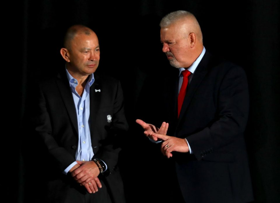 Gatland has ruled out the possibility of replacing Eddie Jones as England head coach