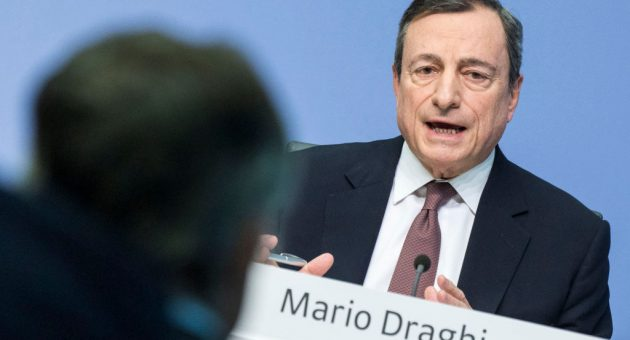 ECB president Mario Draghi has signalled interest rates could be cut