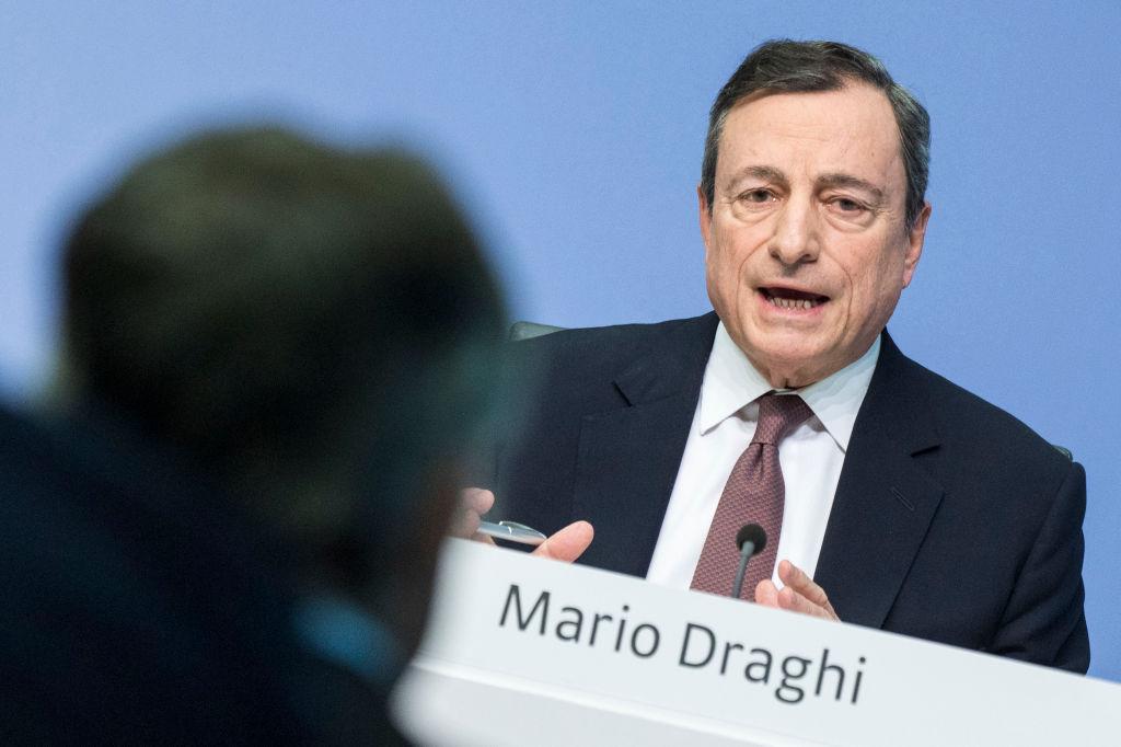 Euro plunges as Mario Draghi signals more ECB stimulus