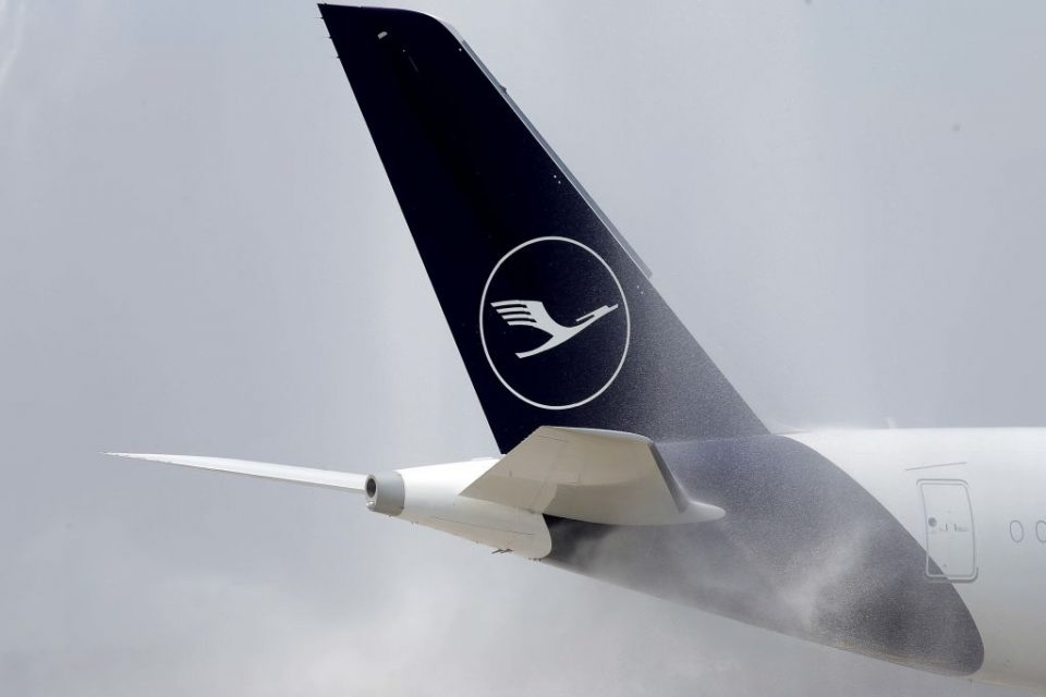 Lufthansa has warned it will only see profits of up to €2.4bn this year