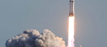 Space X launches Falcon Heavy rocket in 'most difficult' mission yet