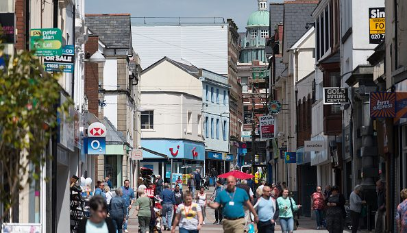 The UK high street is suffering a lack of footfall amid a retail industry crisis